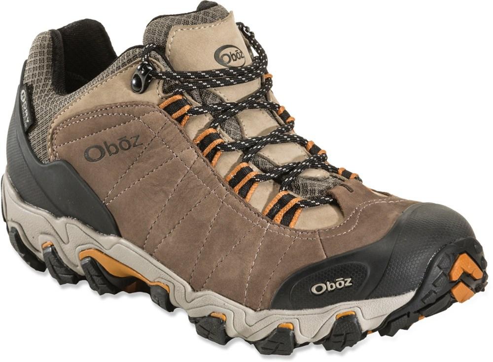 photo: Oboz Men's Bridger Low Waterproof trail shoe
