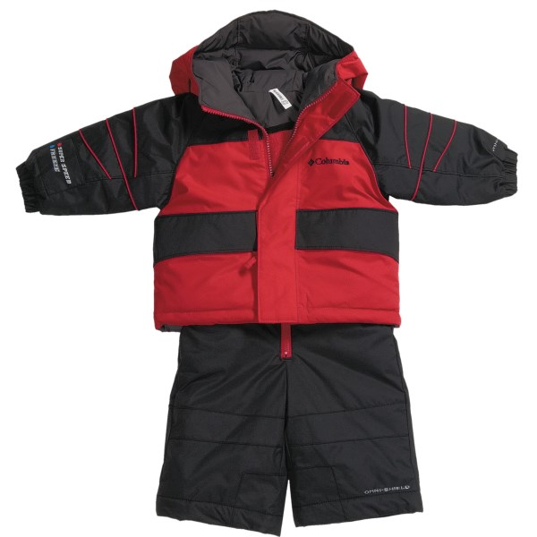 photo: Columbia Zoing Reversible Set kids' snowsuit/bunting