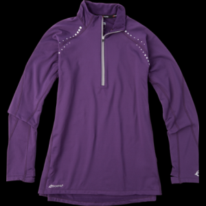 photo: SportHill Men's Ultimate Visibility Zip Top long sleeve performance top