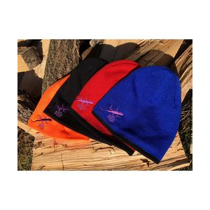 photo of a Purple Lizard Maps winter hat