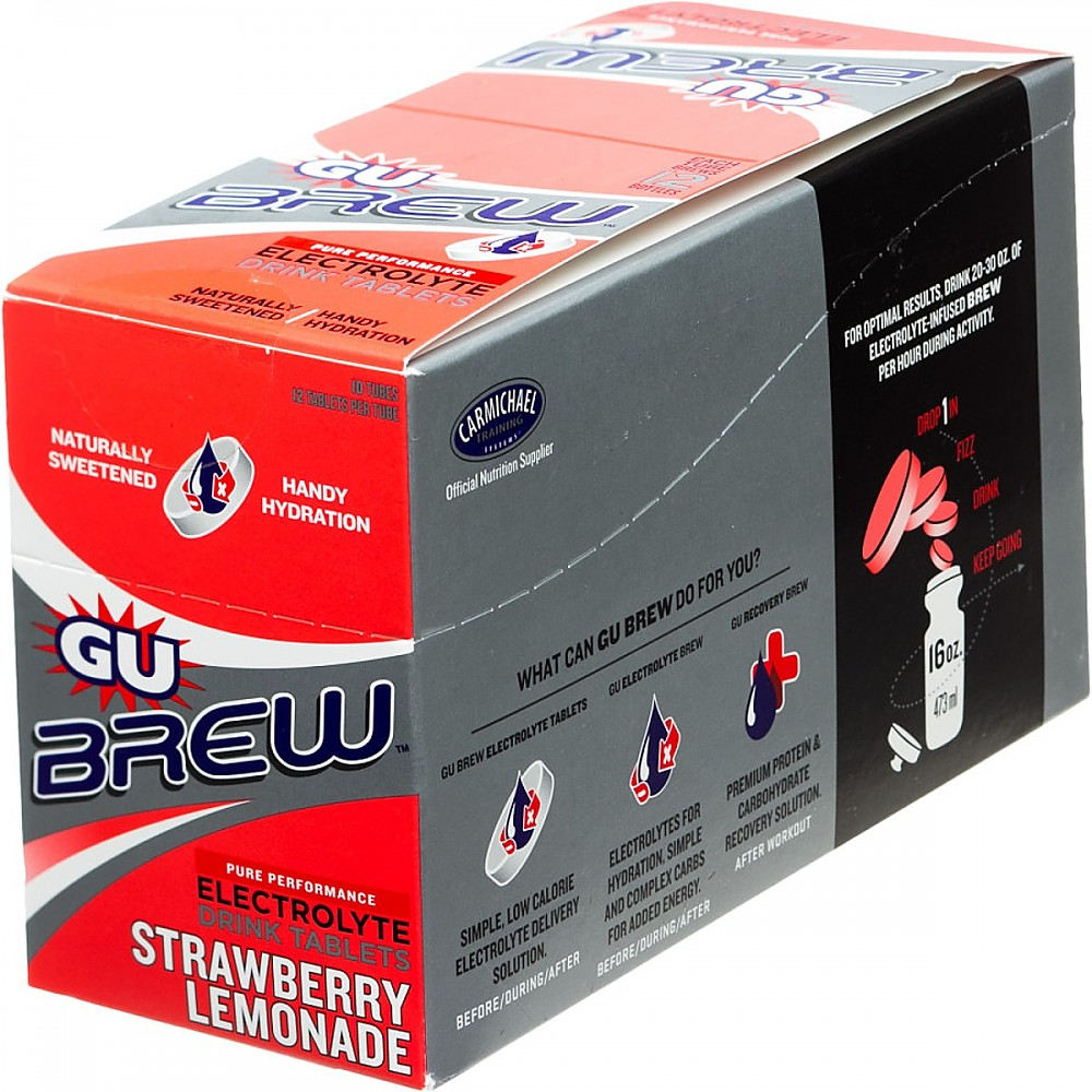 photo: GU Electrolyte Brew Tablets drink