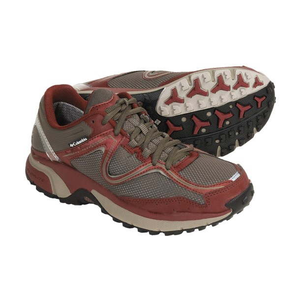 photo: Columbia Women's Ravenous Omni-Tech trail running shoe