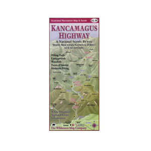 Wilderness Map Co. Kancamagus Highway Map