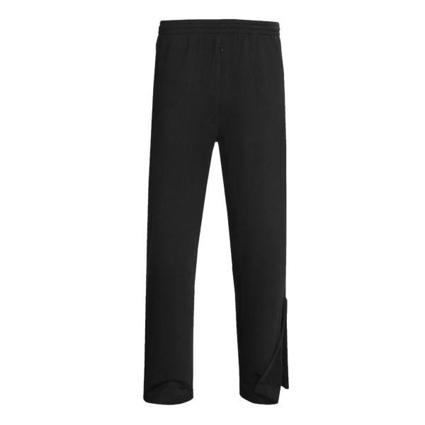 photo: Terramar Geo Fleece Pant - Ankle Zip fleece pant