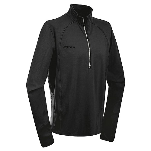 photo: SportHill 3SP Solo Zip Top long sleeve performance top