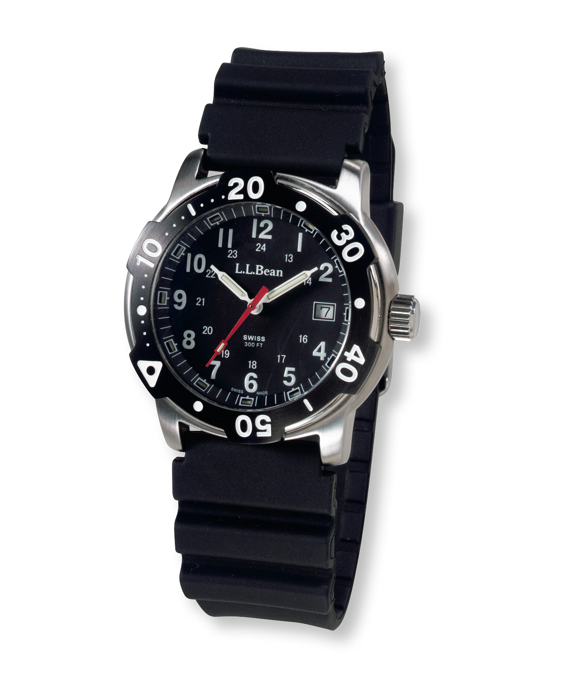 L.L.Bean Self-Illuminating Sport Watch