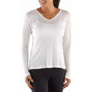 photo: REI Silk V-Neck base layer top