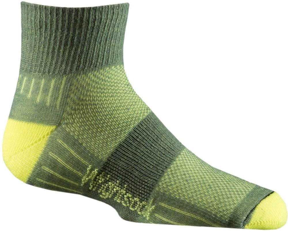 WrightSock CoolMesh II Quarter Sock