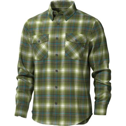 photo: Marmot Mendocino Flannel Shirt hiking shirt