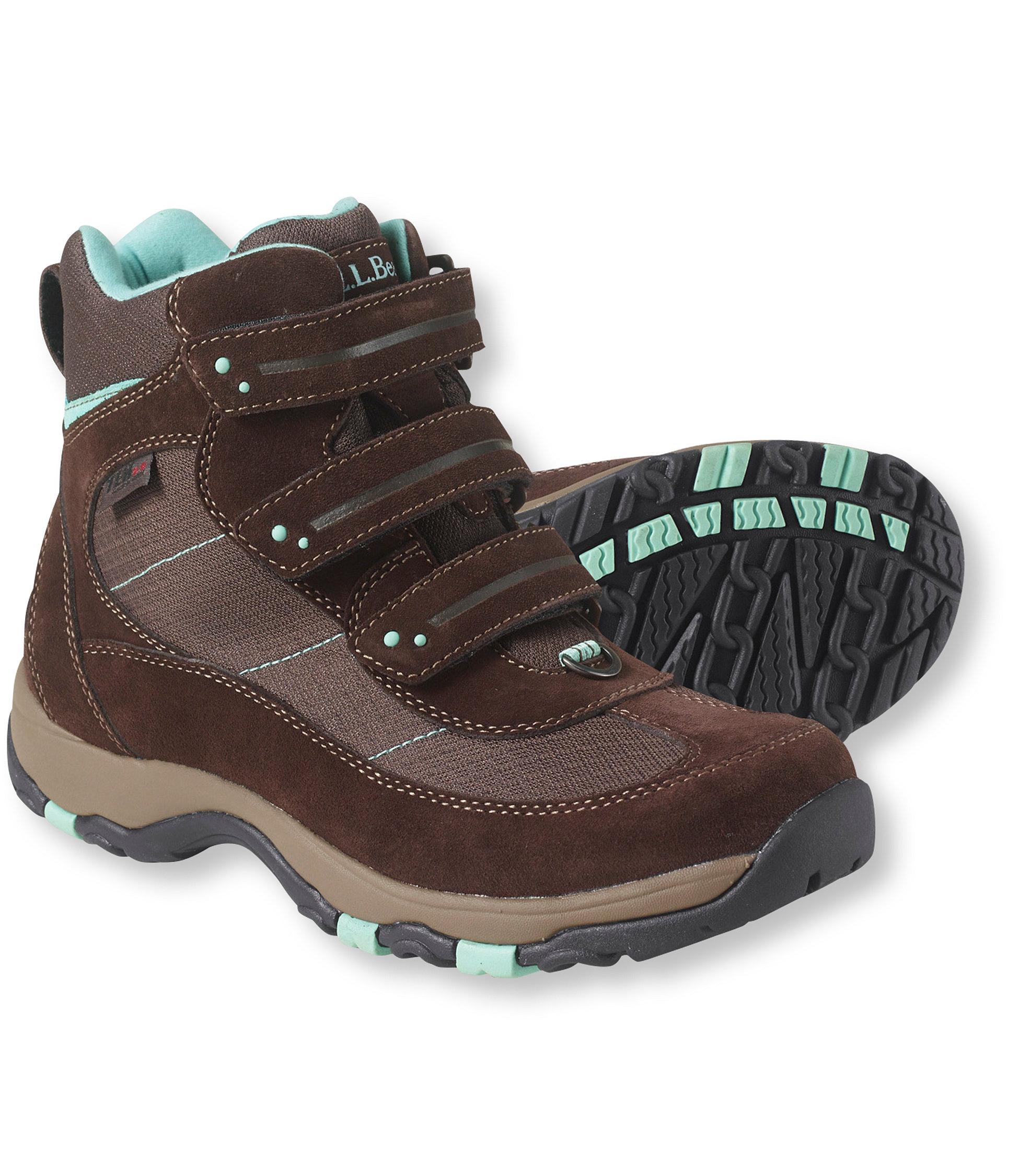 L.L.Bean Waterproof Snow Sneakers, Hook-And-Loop Closure