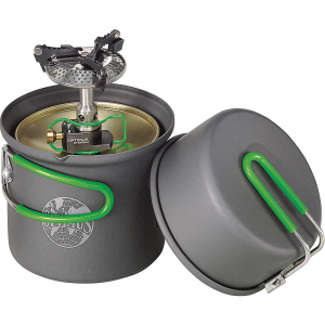 photo: Optimus Crux Lite With Terra Solo Cook Set compressed fuel canister stove