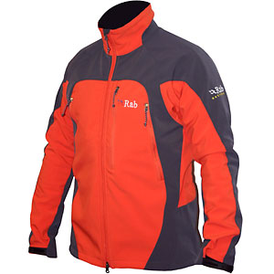 photo: Rab Kailash Jacket soft shell jacket