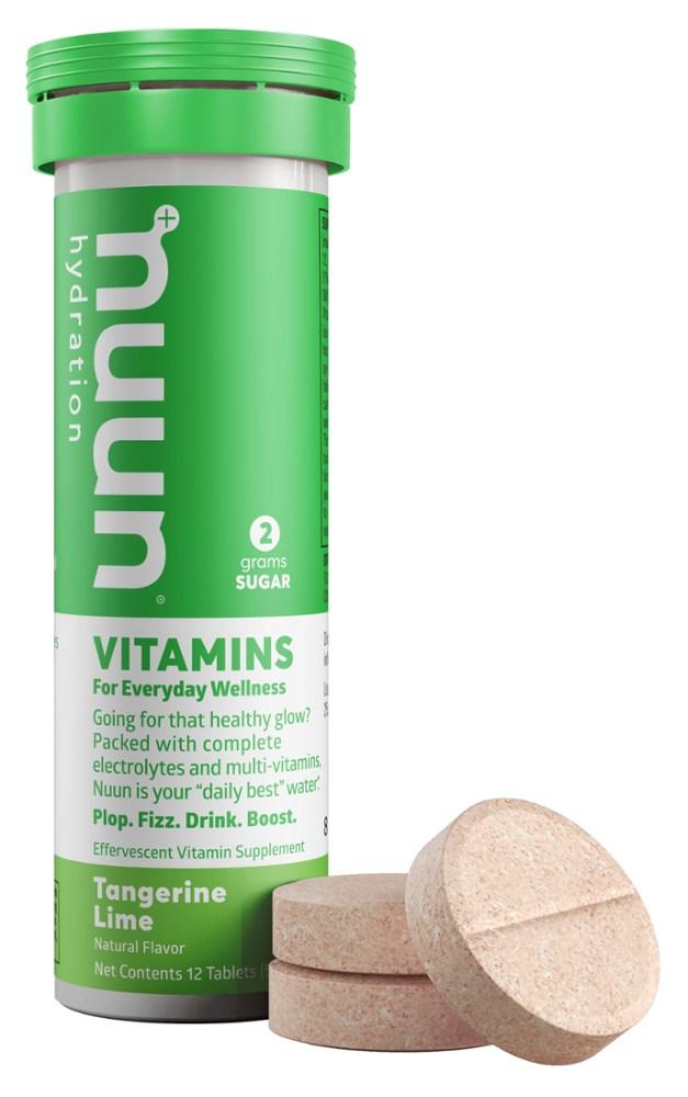 photo: Nuun Vitamins Hydration Tablets drink