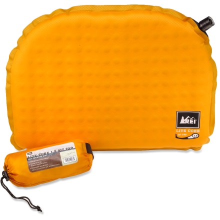 photo: REI Lite-Core Sit Pad self-inflating sleeping pad