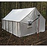 "photo: Tentsmiths 11'3"" x 14' x 8' Wall Tent"