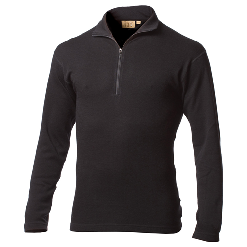 photo: Minus33 Men's 100% Wool Midweight 1/4 Zip base layer top