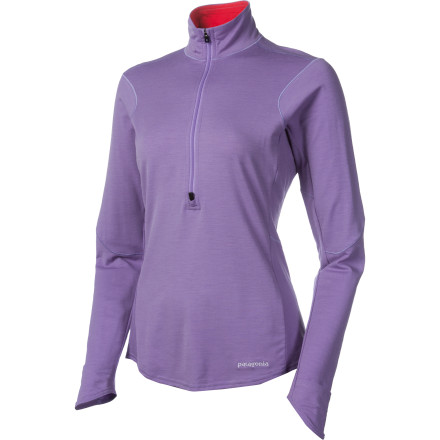 photo: Patagonia Women's Long-Sleeved Thermal Flyer Shirt long sleeve performance top