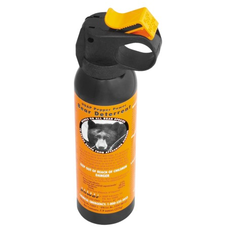 photo: UDAP Pepper Power bear spray