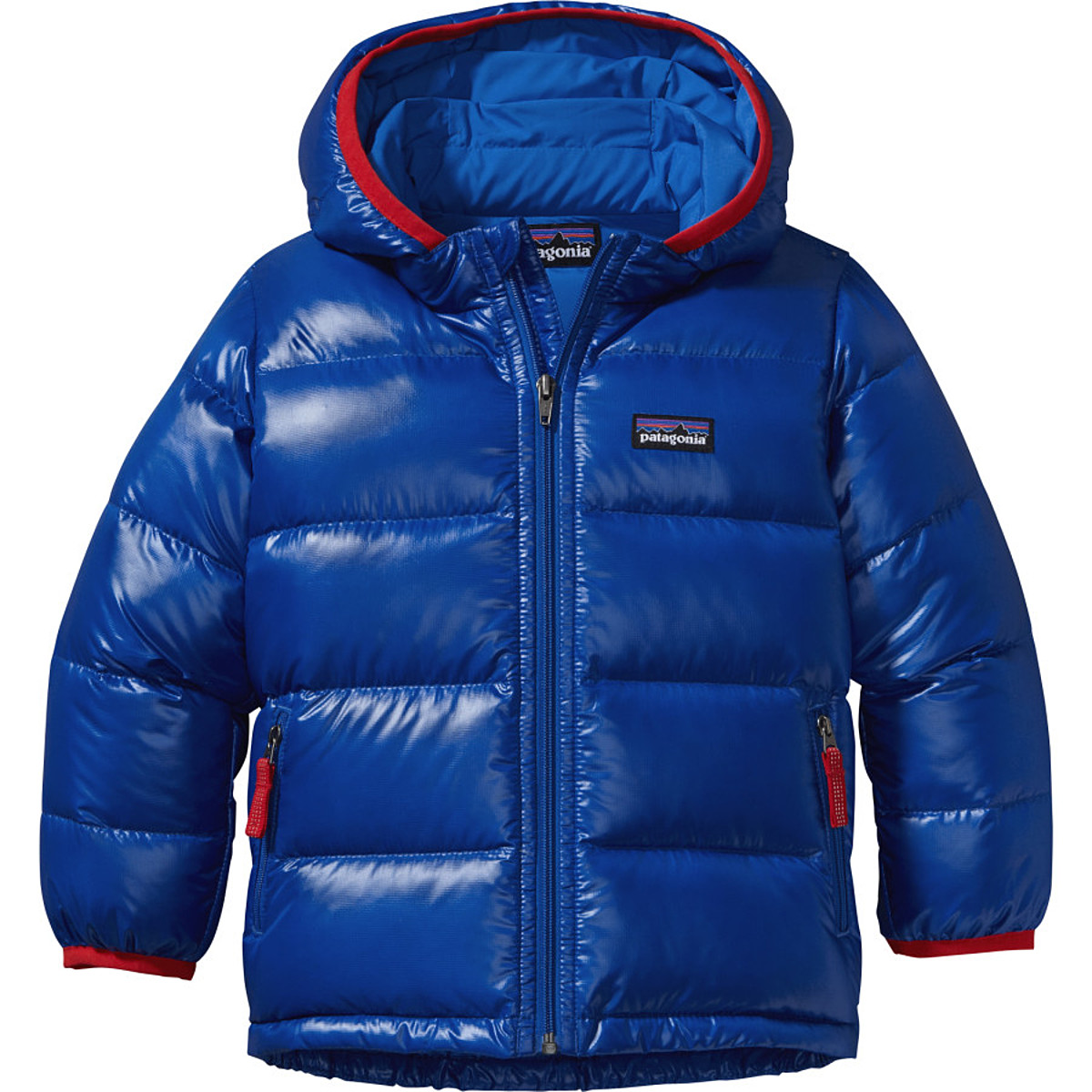 photo: Patagonia Kids' Hi-Loft Down Sweater Hoody down insulated jacket