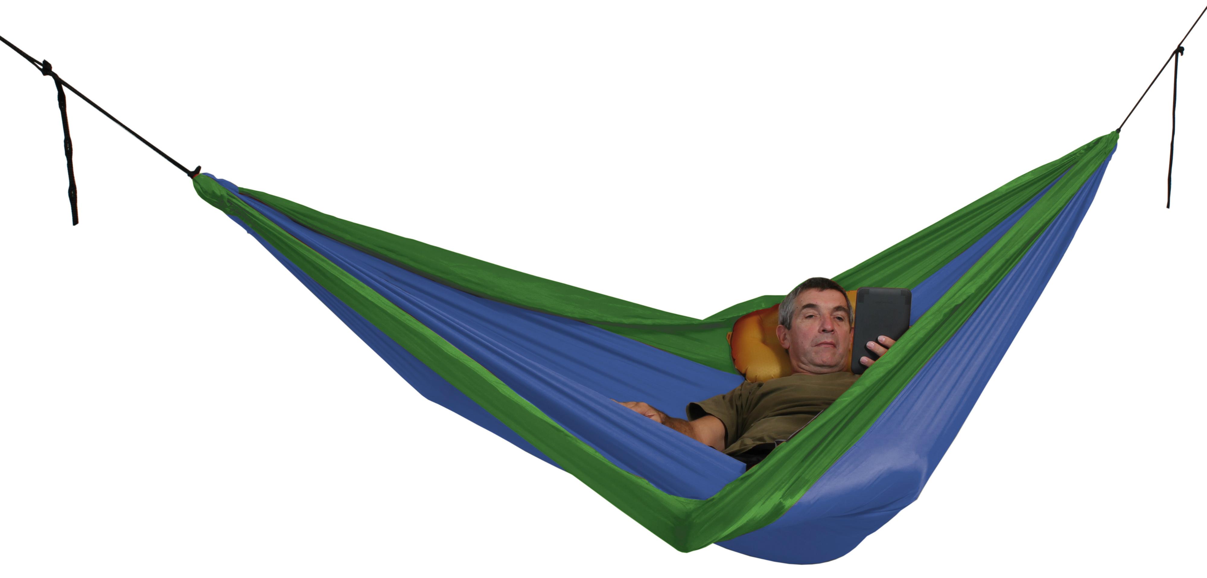 photo: Exped Travel Hammock Duo hammock