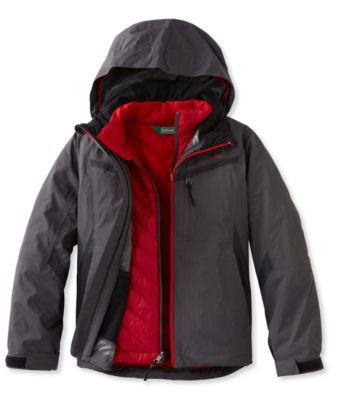 photo: L.L.Bean Boys' Peak 3-in-1 component (3-in-1) jacket