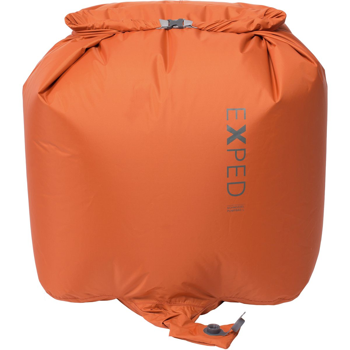 photo: Exped Schnozzel Pumpbag sleeping pad accessory