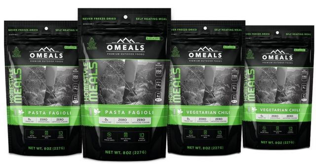OMeals Vegetarian Lovers Adventure Pack