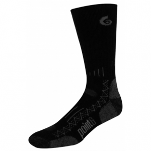 photo of a Point6 hiking/backpacking sock