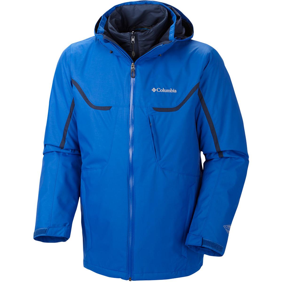 photo: Columbia Men's Whirlibird II Interchange Jacket component (3-in-1) jacket
