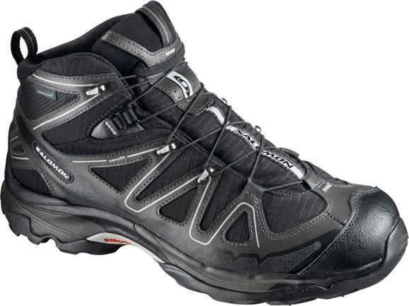 photo: Salomon X Tracks Mid WP hiking boot