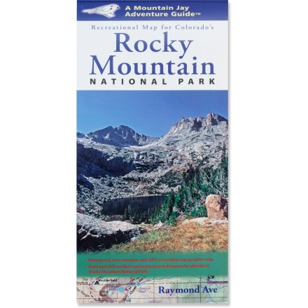 photo of a Mountain Jay Media us mountain states paper map