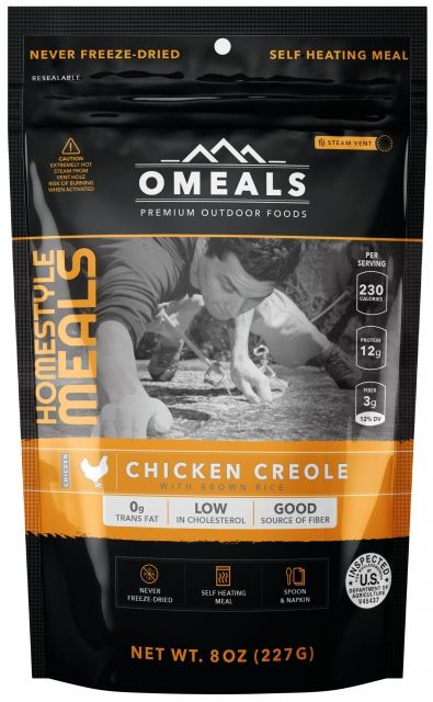 OMeals Chicken Creole with Brown Rice