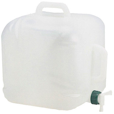 photo: Coleman Expandable Water Carrier - 5 Gallon water storage container