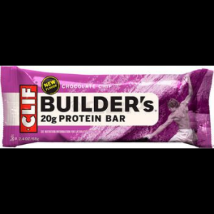 photo: Clif Builder's Chocolate Chip Bar nutrition bar