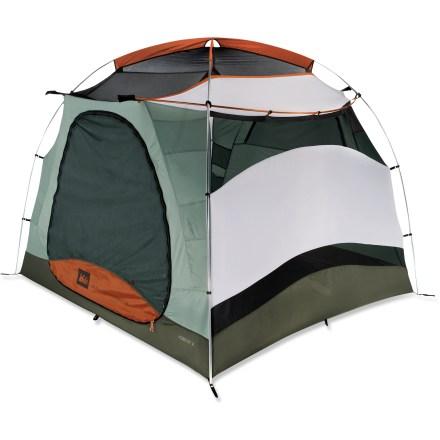 photo: REI Hobitat 4 three-season tent