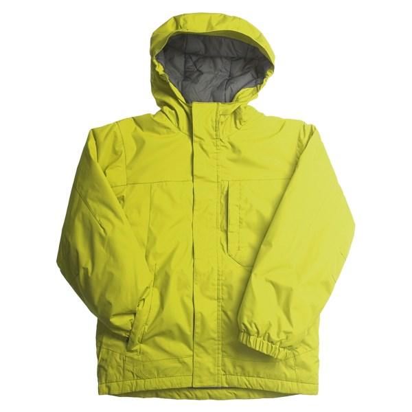 photo: White Sierra Magic Carpet Jacket synthetic insulated jacket