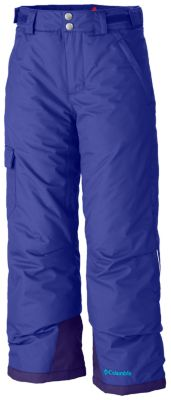 photo: Columbia Girls' Bugaboo Pant snowsport pant