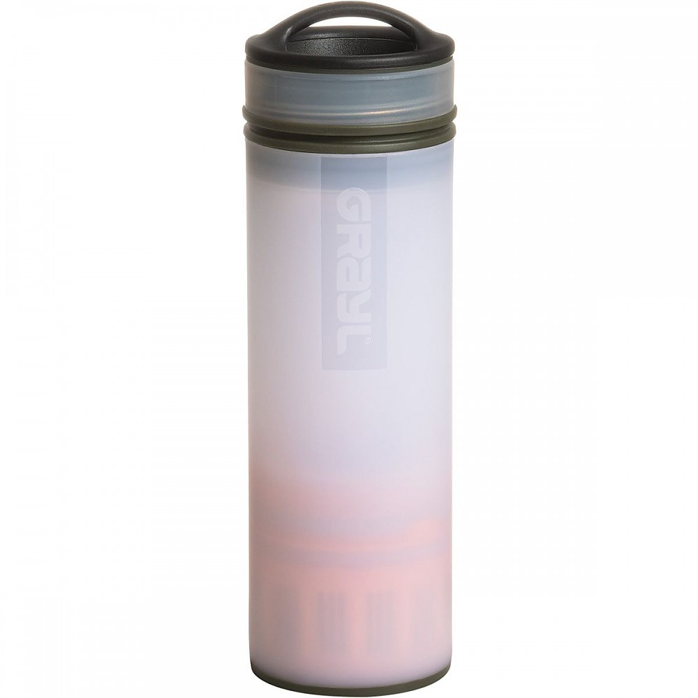 photo: Grayl Ultralight bottle/inline water filter