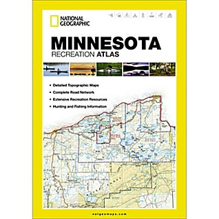 National Geographic Minnesota Recreation Atlas