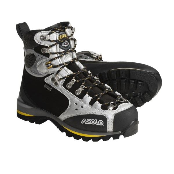 photo: Asolo Alpinist Gore-Tex mountaineering boot