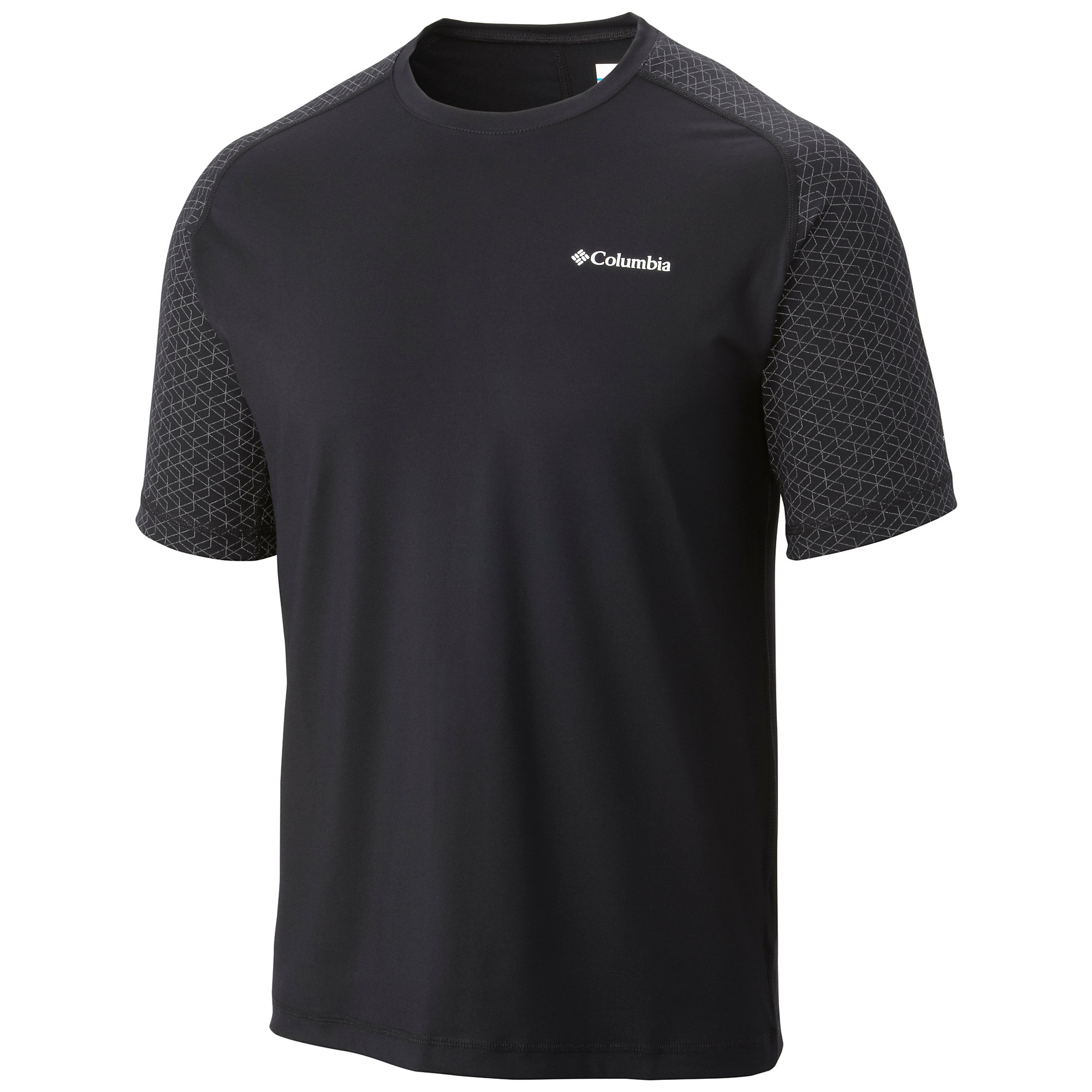 photo: Columbia Men's Trail Flash Short Sleeve Shirt short sleeve performance top