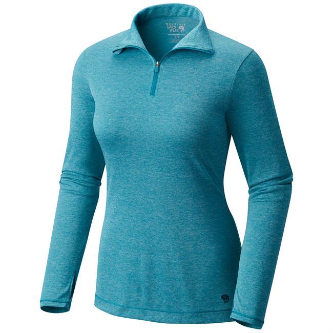 photo: Mountain Hardwear Women's Wicked Long Sleeve Zip T long sleeve performance top