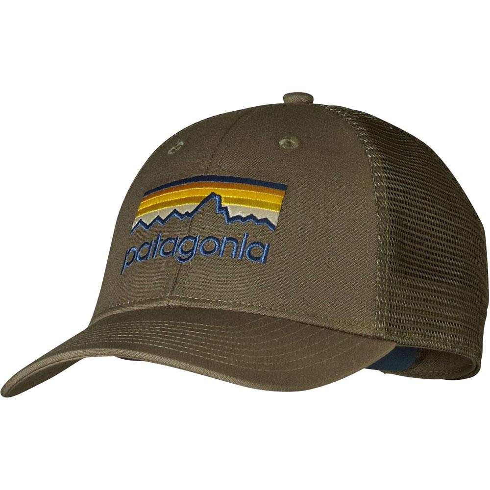 Patagonia Line Logo LoPro Trucker Hat
