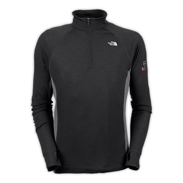 photo: The North Face Stretch Softwool 1/4-Zip base layer top