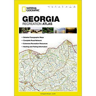 National Geographic Georgia Recreation Atlas