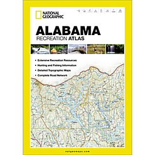photo: National Geographic Alabama Recreation Atlas us south guidebook