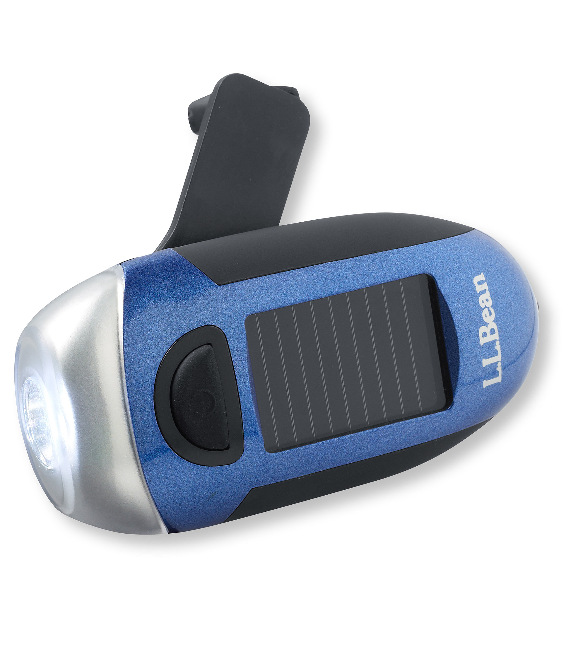 L.L.Bean Solar Mini Crank Flashlight
