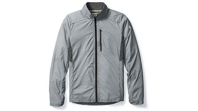 photo: Smartwool PhD Ultra Light Sport Jacket wind shirt