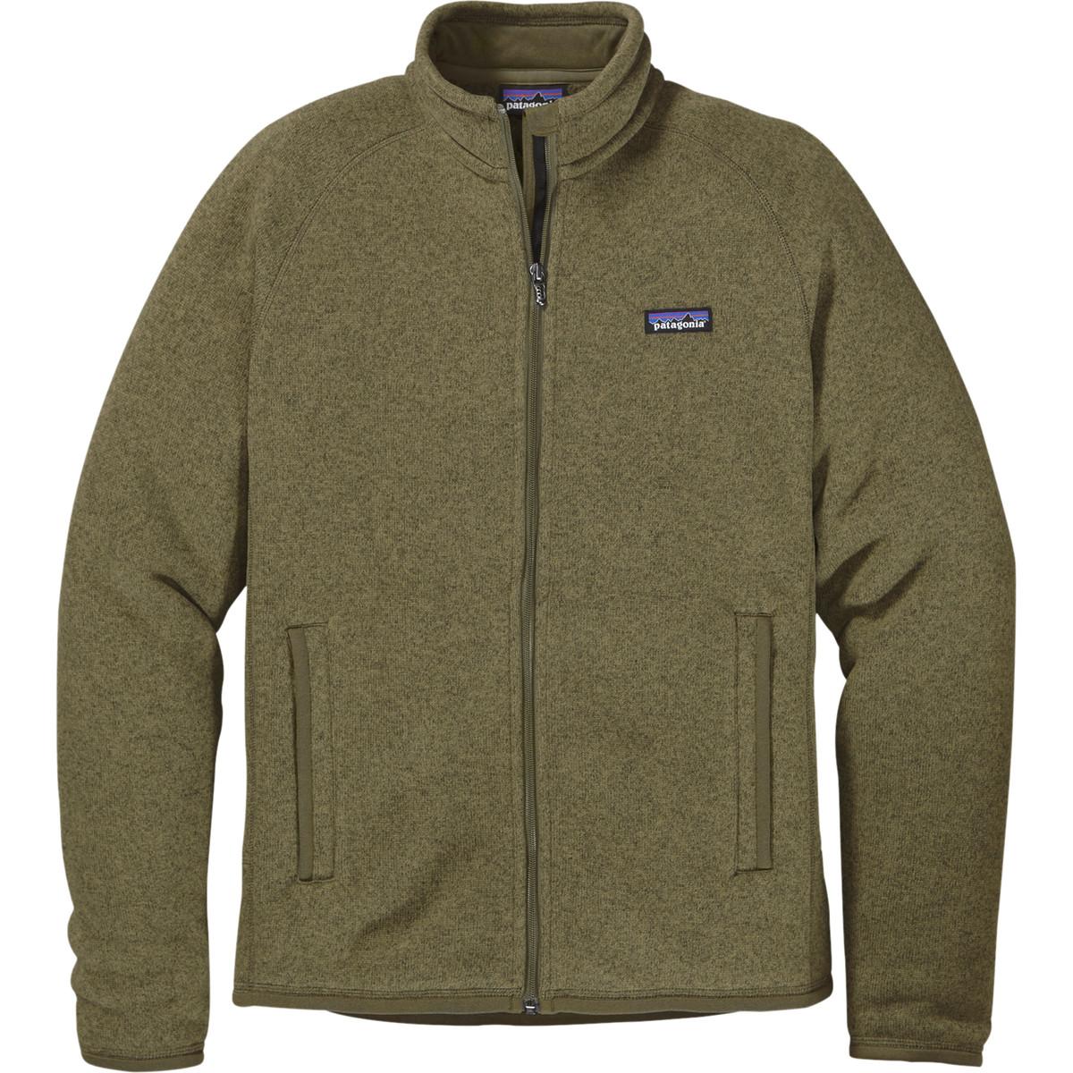 photo: Patagonia Men's Better Sweater Jacket fleece jacket