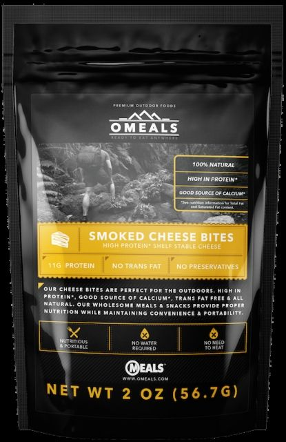 photo: OMeals Smoked Cheese Bites snack/side dish